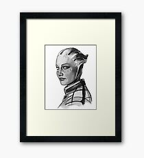 Liara T'Soni Framed Print