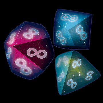 infinity, galaxy dice by onelasttrick