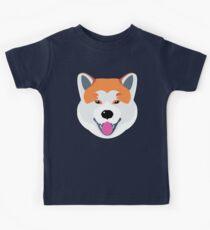 Camiseta para niños Yoko el Akita Inu
