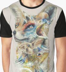 Heroes of Lylat Starfox Inspired Classy Geek Painting Graphic T-Shirt