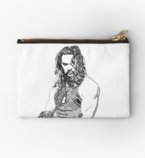 Jason ink drawing movie buff Zipper Pouch