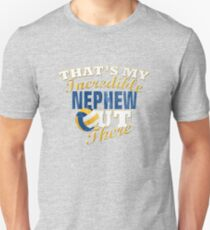 Volleyball Nephew, Uncle & Aunt Gift Unisex T-Shirt