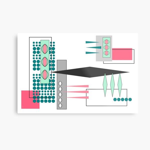 Bits & Pieces Metal Print