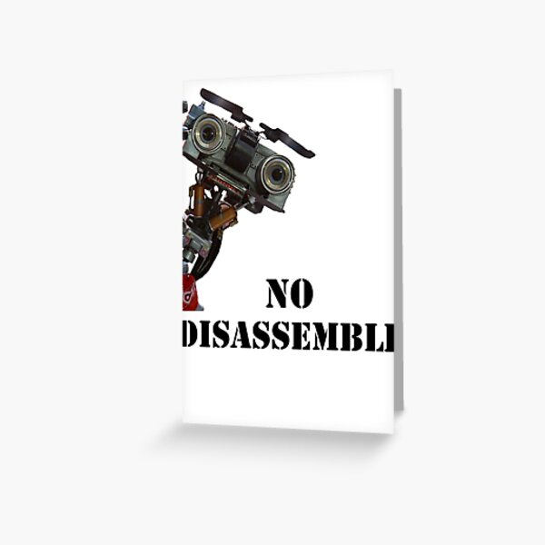 Short Circuit - No Disassemble Greeting Card