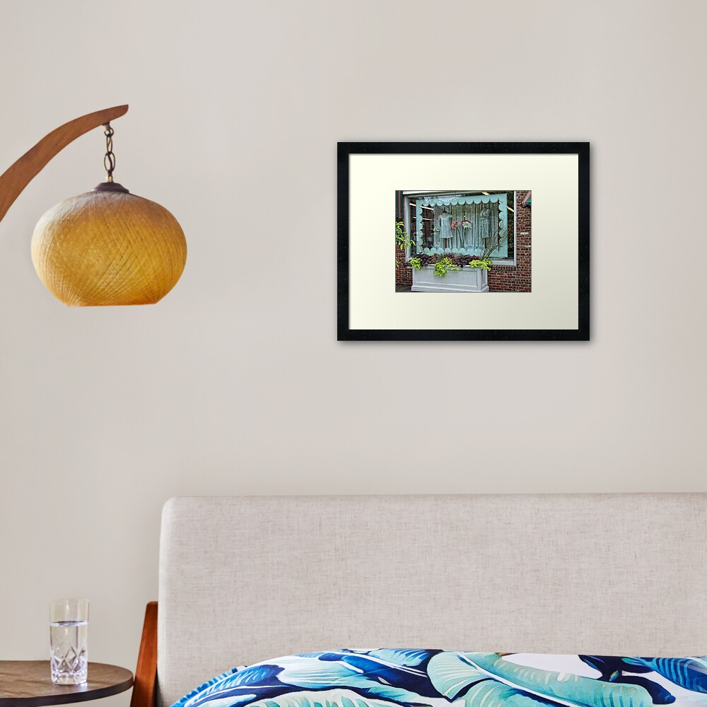 Salisbury Shop Framed Art Print