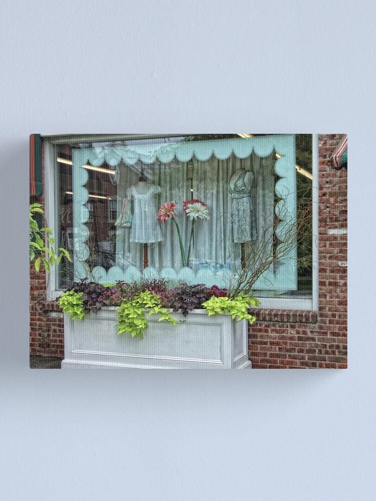 Alternate view of Salisbury Shop Canvas Print