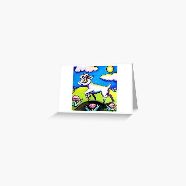 Prance Greeting Card