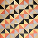 Metallic-Triangles by Donna Sensor Thomas