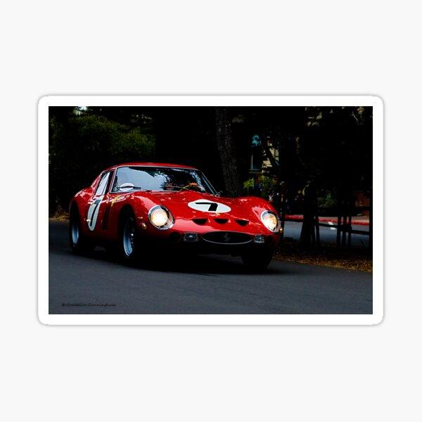 Super Car Art #3 Twilight Drive Sticker