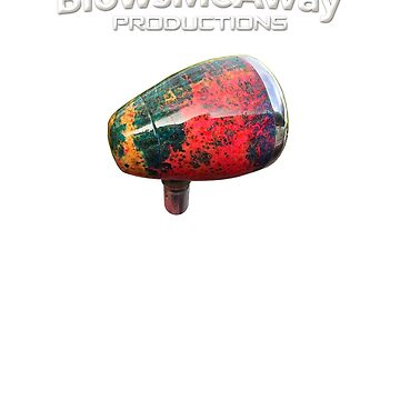 Greg Heumann's BlowsMeAway Productions Dyed Wooden Microphone by GussowMBH