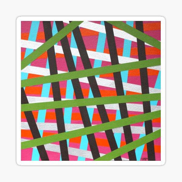 Series 3: Striped Sweater A Sticker