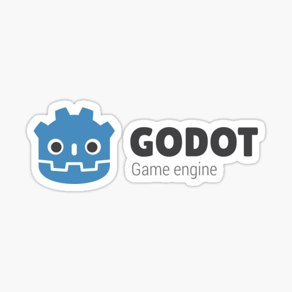 Godot Engine Sticker