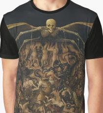 HD The Crucifixion The Last Judgment (detail) by Jan van Eyck HIGH DEFINITION Graphic T-Shirt