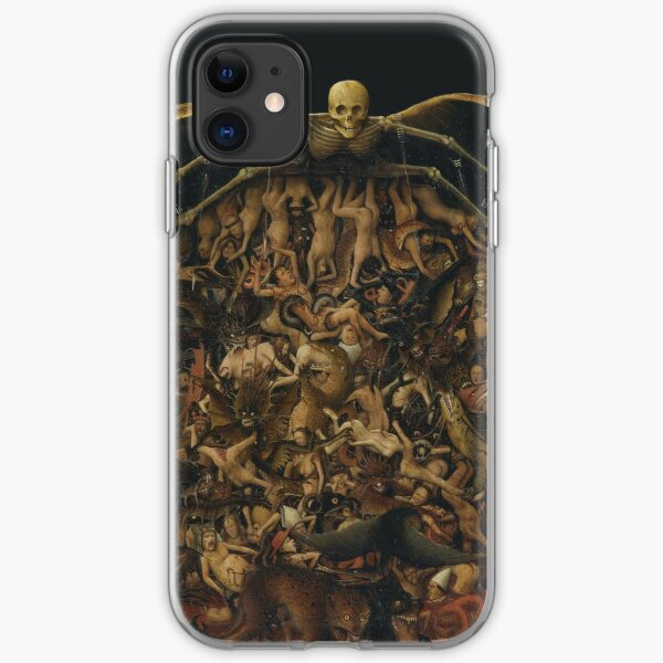 HD The Crucifixion The Last Judgment (detail) by Jan van Eyck HIGH DEFINITION iPhone Soft Case