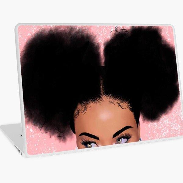 melanin poppin Laptop Skin