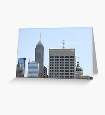 Midwest Skyline Greeting Card