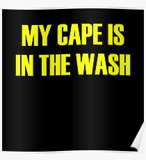 Cape superhero cape Poster