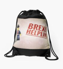 Brexit Helpline Drawstring Bag