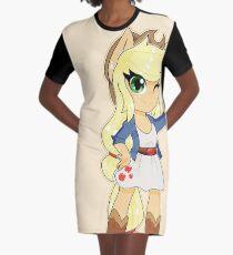 Apple Jack Graphic T-Shirt Dress