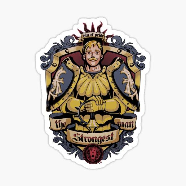 Lion's Sin of Pride Sticker