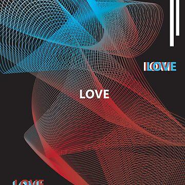 """LOVE"" by laurenjesson"
