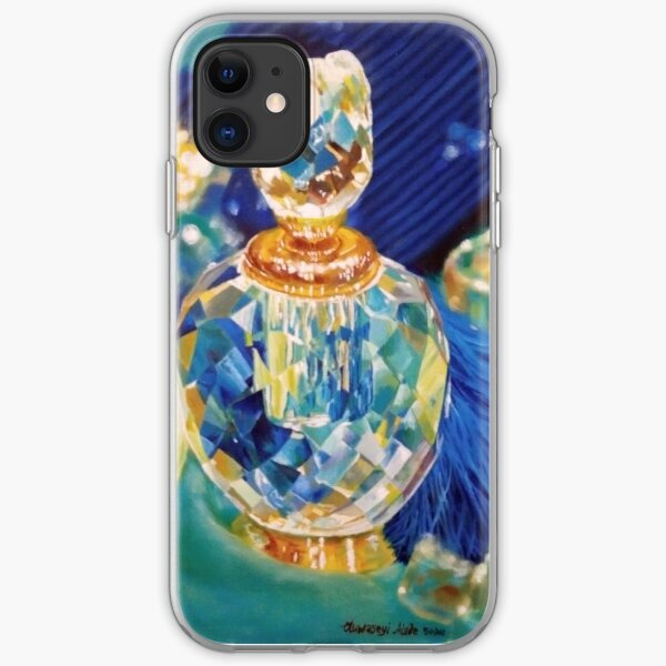 Perfume bottles and Silk shawls iPhone Soft Case