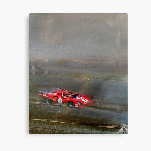 Super Car Art #6 At Speed Canvas Print