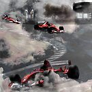 Super Car Art #7 Fog on the Corkscrew by Photoart4U