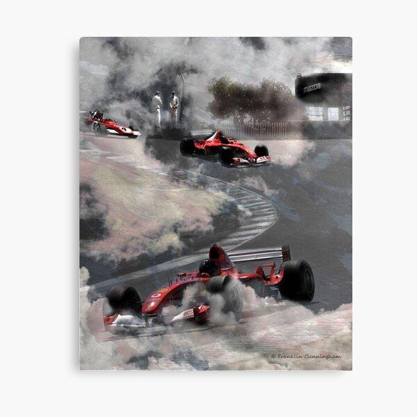 Super Car Art #7 Fog on the Corkscrew Canvas Print