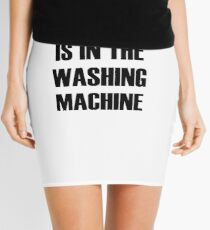 Cape superhero cape washing machine Mini Skirt