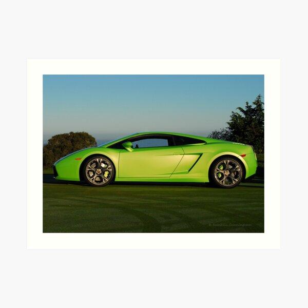 Super Car Art # G Art Print