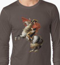 Napoleon Art Delacroix Inspired Long Sleeve T-Shirt