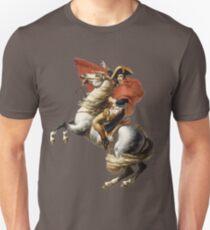 Camiseta ajustada Napoleon Art Delacroix Inspirado