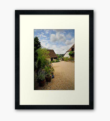 Orchard Cottage Framed Print