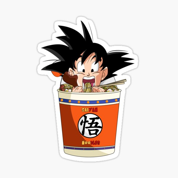 Saiyan Noodles 2 Sticker