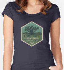 Korok Forest National Park Fitted Scoop T-Shirt