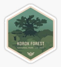 Korok Forest National Park Sticker