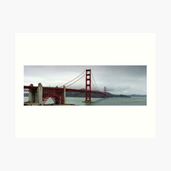Golden Gate panorama Art Print