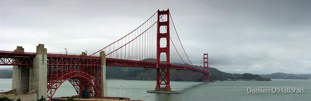 Golden Gate panorama by Damien O'Halloran