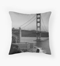 Fort Point Throw Pillow
