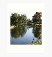 Long Lake Thoroughfare Art Print