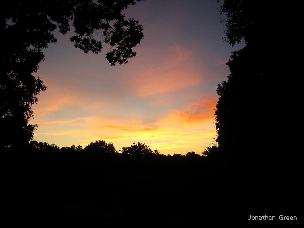 Asheboro NC Sunset by Jonathan  Green