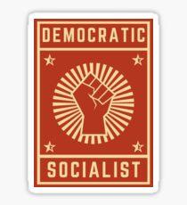 democratic socialist Sticker
