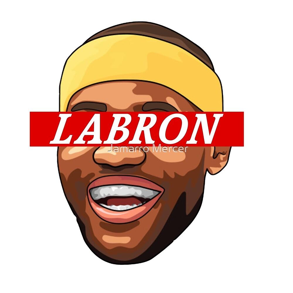 47d30676ba9 LeBron James Lakers LaBron Supreme