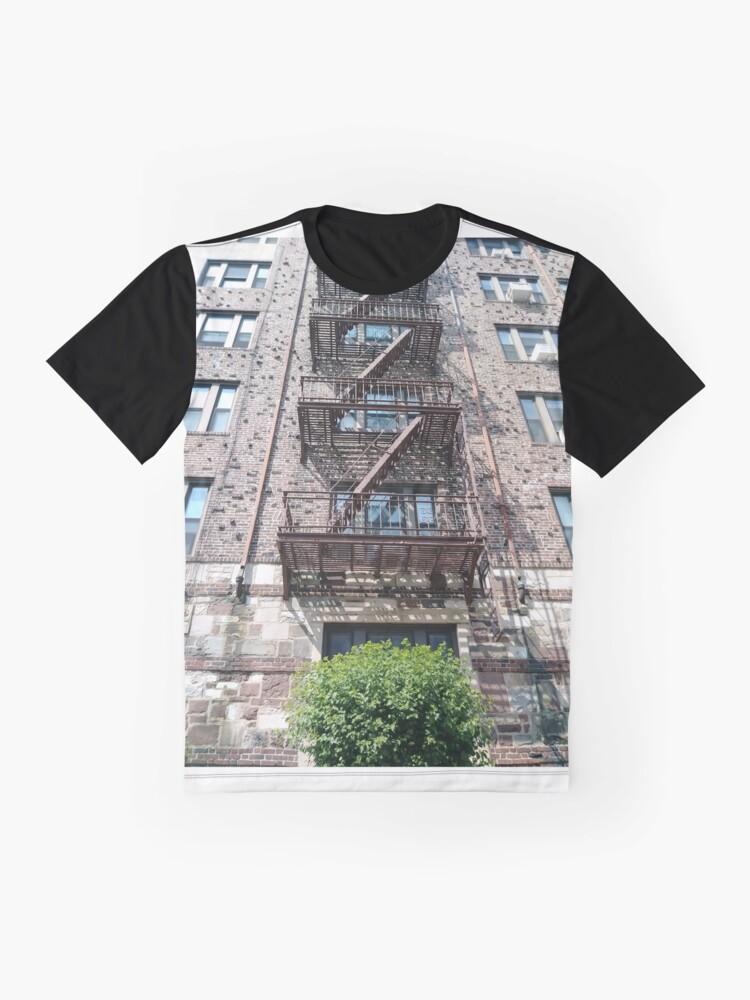 Alternate view of New York, New York City, Brooklyn, #NewYork, #NewYorkCity, #Brooklyn,  Graphic T-Shirt