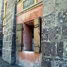 Shuttered window in Innsbruck by chijude