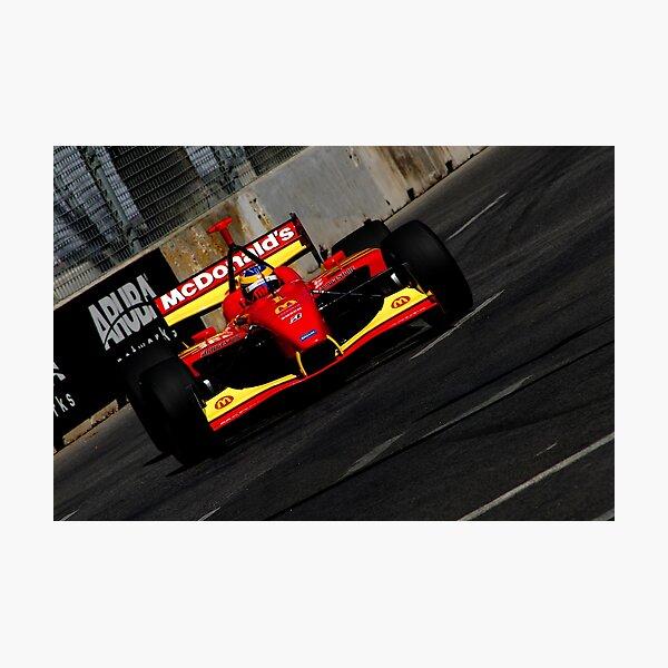 Open Wheel Racing on the Street Photographic Print