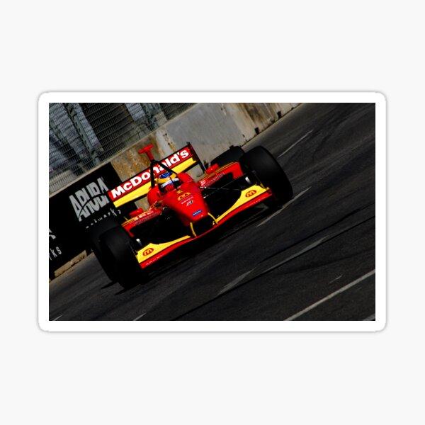 Open Wheel Racing on the Street Sticker