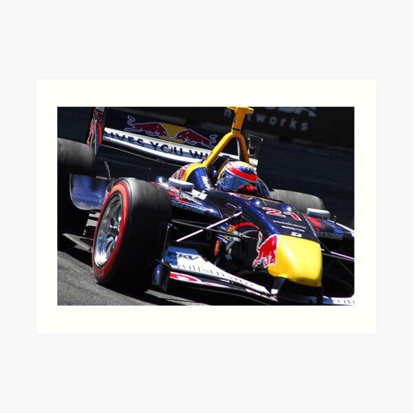 Open Wheel Racing Art Print