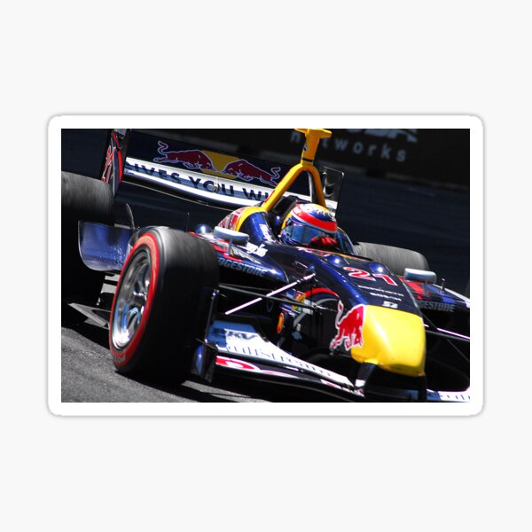 Open Wheel Racing Sticker